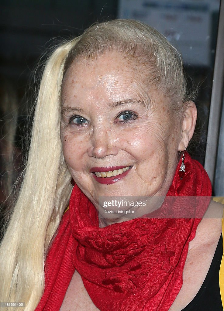 Actress <a gi-track='captionPersonalityLinkClicked' href=/galleries/search?phrase=Sally+Kirkland&family=editorial&specificpeople=206468 ng-click='$event.stopPropagation()'>Sally Kirkland</a> attends the Los Angeles premiere of 'Awakened' at the Laemmle Music Hall on March 30, 2014 in Beverly Hills, California.