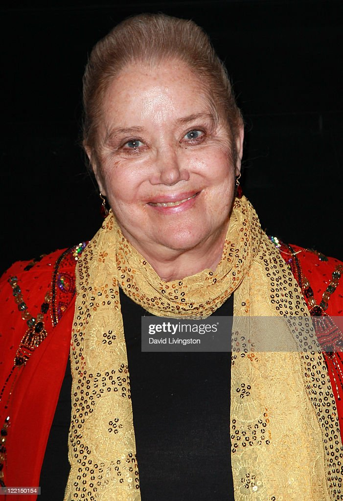 Actress <a gi-track='captionPersonalityLinkClicked' href=/galleries/search?phrase=Sally+Kirkland&family=editorial&specificpeople=206468 ng-click='$event.stopPropagation()'>Sally Kirkland</a> attends the Los Angeles premiere of 'The Casserole Club' presented by the American Cinematheque at the Egyptian Theatre on August 25, 2011 in Hollywood, California.