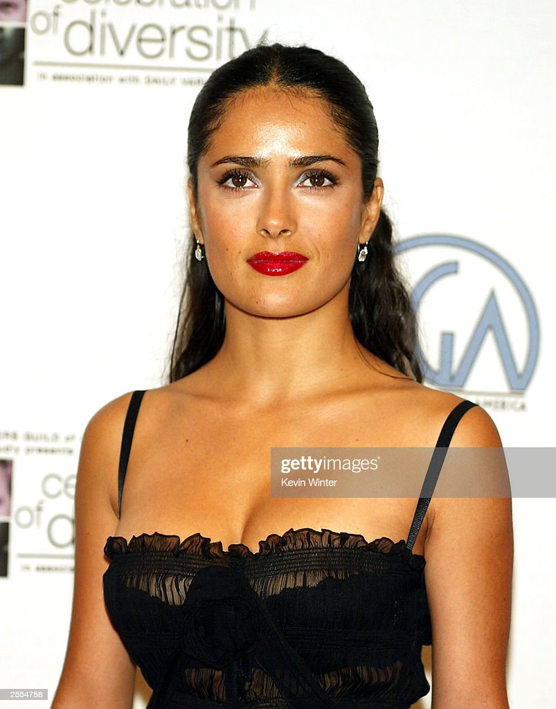Actress Salma Hayek arrives at the The Producers Guild of America's 2nd Annual Celebration of Diversity in association with Daily Variety at the...