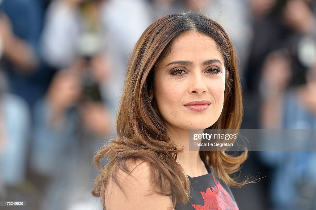 Actress <a gi-track='captionPersonalityLinkClicked' href=/galleries/search?phrase=Salma+Hayek&family=editorial&specificpeople=201844 ng-click='$event.stopPropagation()'>Salma Hayek</a> attends a photocall for 'Il Racconto Dei Racconti' ('Tale of Tales') during the 68th annual Cannes Film Festival on May 14, 2015 in Cannes, France.