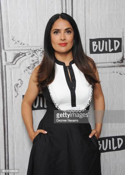 Actress Salma Hayek attends Build to discuss 'Beatriz At Dinner' at Build Studio on June 7 2017 in New York City