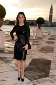 Actress Salma Hayek attends the Dinner At 'Fondazione Cini Isola Di San Giorgio' during the 2013 Venice Biennale on May 29 2013 in Venice Italy