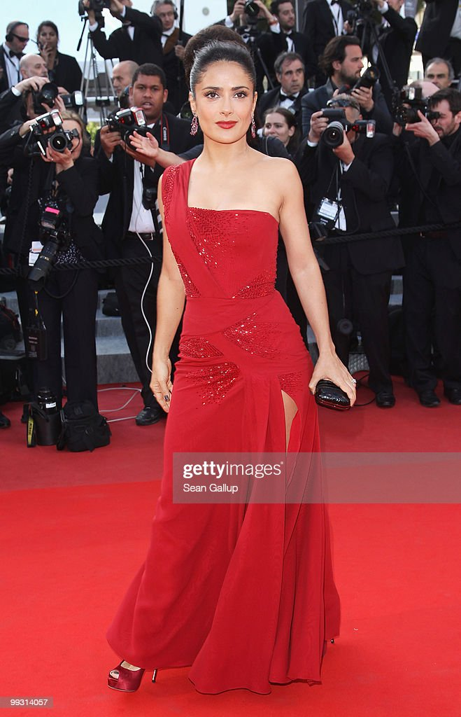Actress Salma Hayek attends the 'IL Gattopardo' Premiere at the Palais des Festivals during the 63rd Annual Cannes Film Festival on May 14, 2010 in Cannes, France.
