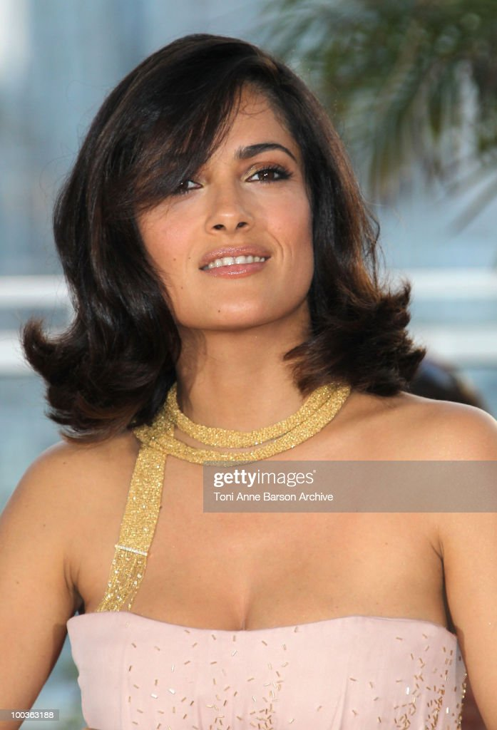 Actress Salma Hayek attends the Palme d'Or Award Ceremony Photo Call held at the Palais des Festivals during the 63rd Annual International Cannes Film Festival on May 23, 2010 in Cannes, France.