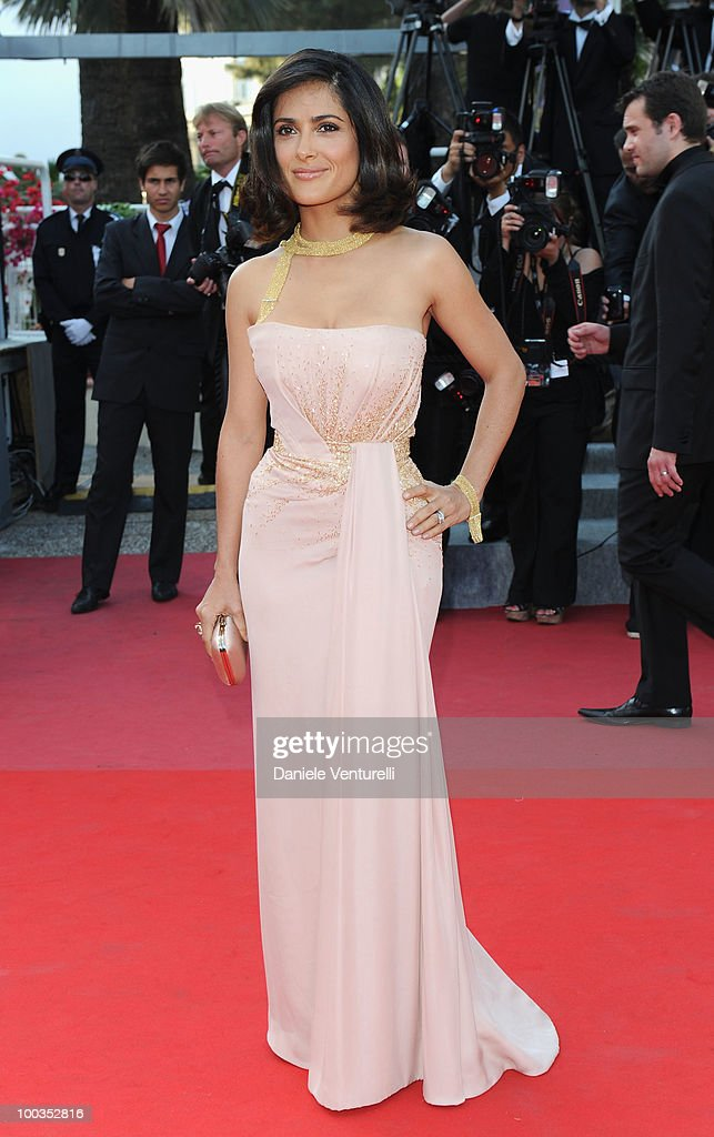 Actress Salma Hayek attends the Palme d'Or Closing Ceremony held at the Palais des Festivals during the 63rd Annual International Cannes Film Festival on May 23, 2010 in Cannes, France.