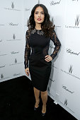 Actress Salma Hayek attends The Weinstein Company Academy Award Party hosted by Chopard at Soho House on February 23 2013 in West Hollywood California