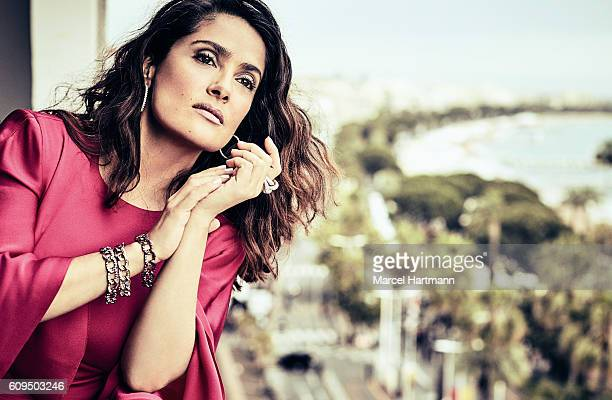 Actress Salma Hayek is photographed for Vanity Fair Italy on May 14 2016 in Cannes France