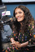 Salma Hayek Visits The SiriusXM Studios In Los Angeles