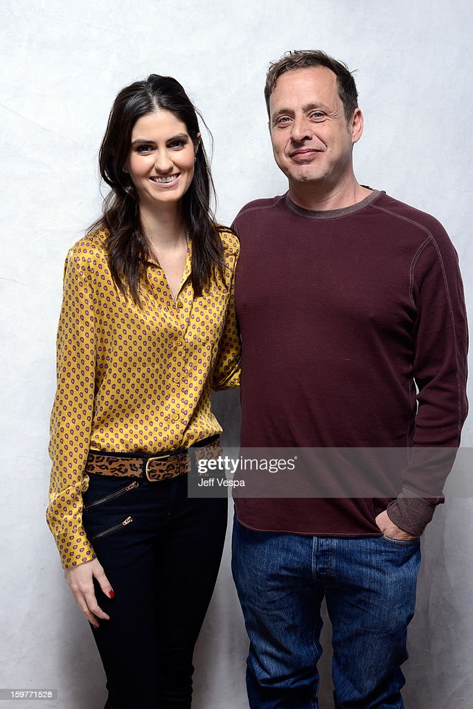 Actress Sam Buchanan (L) and actor Richmond Arquette pose for a portrait during the 2013 Sundance Film Festival at the WireImage Portrait Studio at Village At The Lift on January 20, 2013 in Park City, Utah.