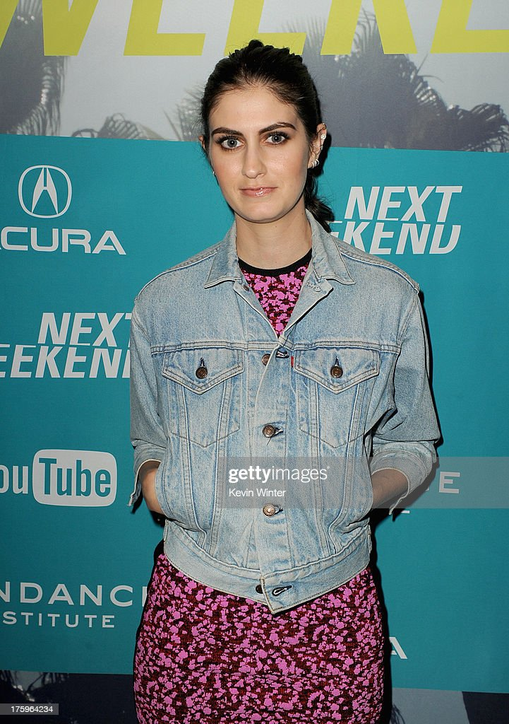 Actress Sam Buchanan attends 'This Is Martin Bonner' premiere during NEXT WEEKEND, presented by Sundance Institute at Sundance Sunset Cinema on August 10, 2013 in Los Angeles, California.