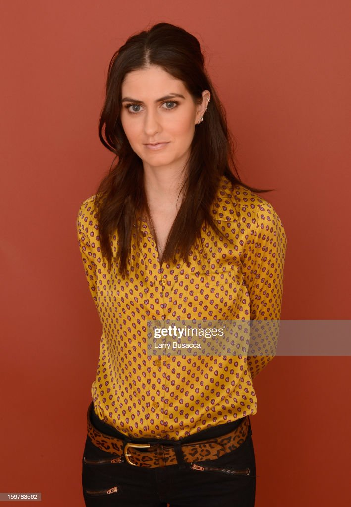 Actress Sam Buchanan poses for a portrait during the 2013 Sundance Film Festival at the Getty Images Portrait Studio at Village at the Lift on January 20, 2013 in Park City, Utah.