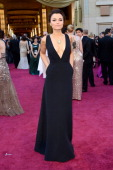 Actress Samantha Barks arrives at the Oscars at Hollywood Highland Center on February 24 2013 in Hollywood California
