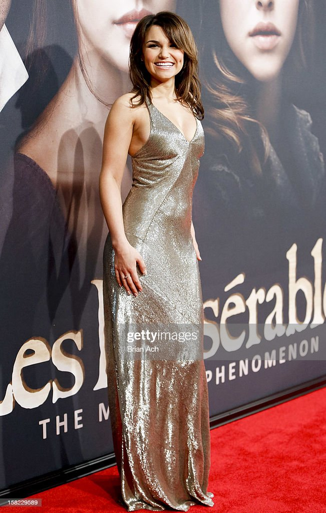 Actress Samantha Barks attends 'Les Miserables' New York premiere at Ziegfeld Theater on December 10, 2012 in New York City.