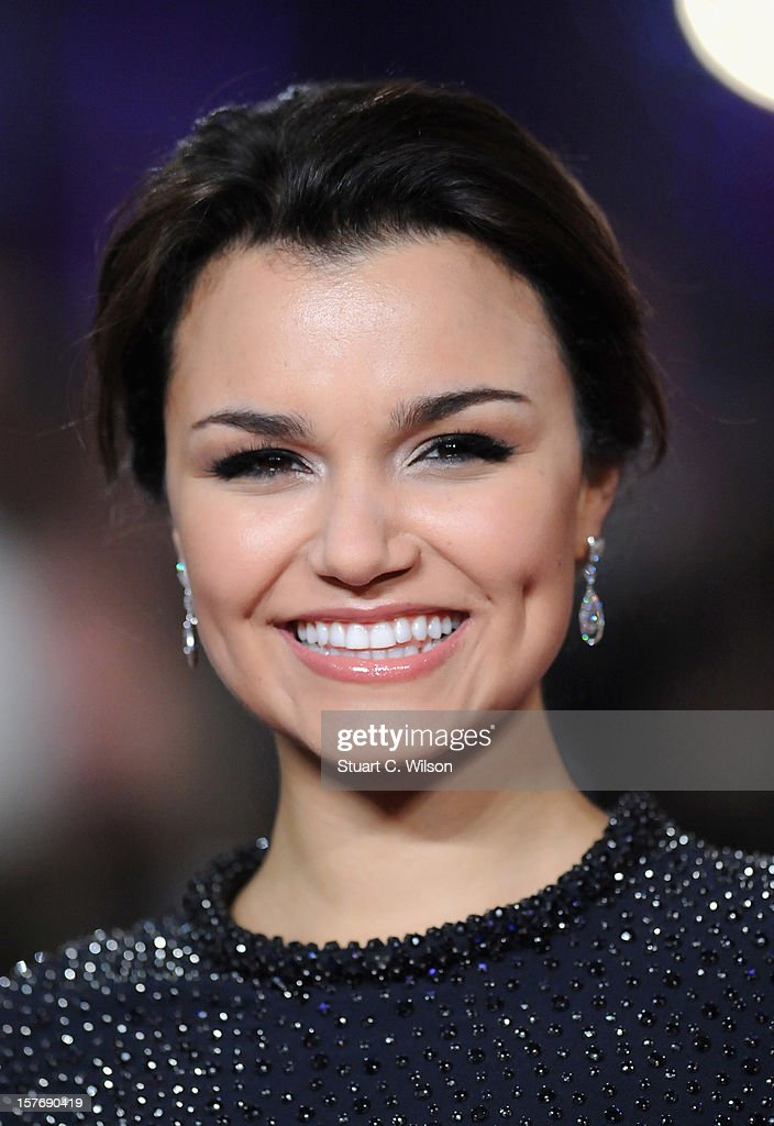 Actress Samantha Barks attends the 'Les Miserables' World Premiere at the Odeon Leicester Square on December 5, 2012 in London, England.