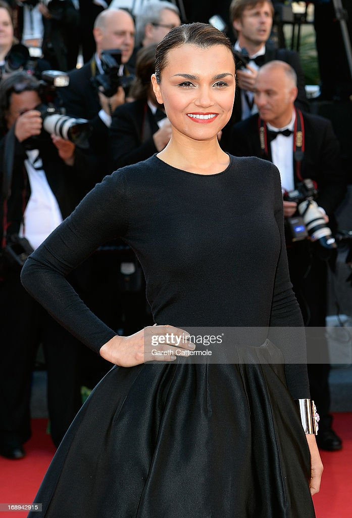 Actress Samantha Barks attends the Premiere of 'Le Passe' (The Past) during The 66th Annual Cannes Film Festival at Palais des Festivals on May 17, 2013 in Cannes, France.