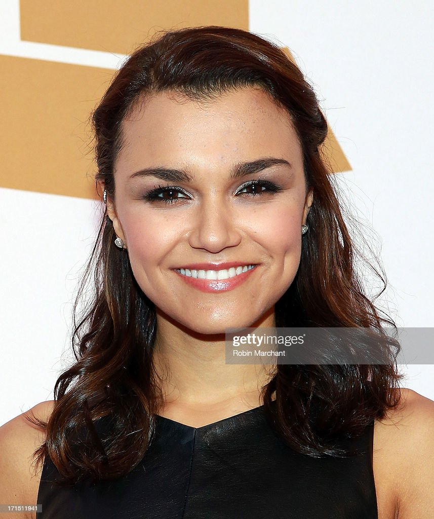 Actress <a gi-track='captionPersonalityLinkClicked' href=/galleries/search?phrase=Samantha+Barks&family=editorial&specificpeople=7061893 ng-click='$event.stopPropagation()'>Samantha Barks</a> attends The Recording Academy Honors 2013 at 583 Park Avenue on June 25, 2013 in New York City.