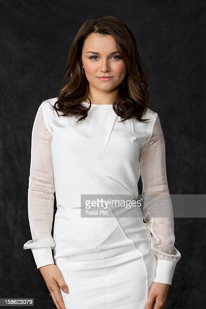 Actress Samantha Barks is photographed for USA Today on November 30 2012 in New York City