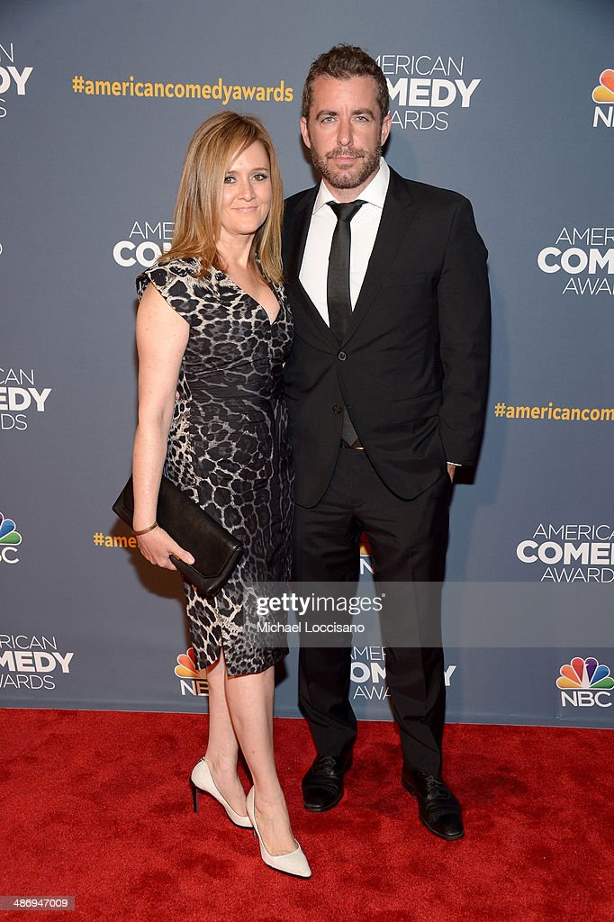Actress <a gi-track='captionPersonalityLinkClicked' href=/galleries/search?phrase=Samantha+Bee&family=editorial&specificpeople=2244874 ng-click='$event.stopPropagation()'>Samantha Bee</a> (L) and Jason Jones attend 2014 American Comedy Awards at Hammerstein Ballroom on April 26, 2014 in New York City.
