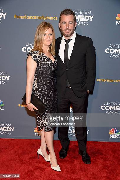 Actress Samantha Bee and Jason Jones attend 2014 American Comedy Awards at Hammerstein Ballroom on April 26 2014 in New York City