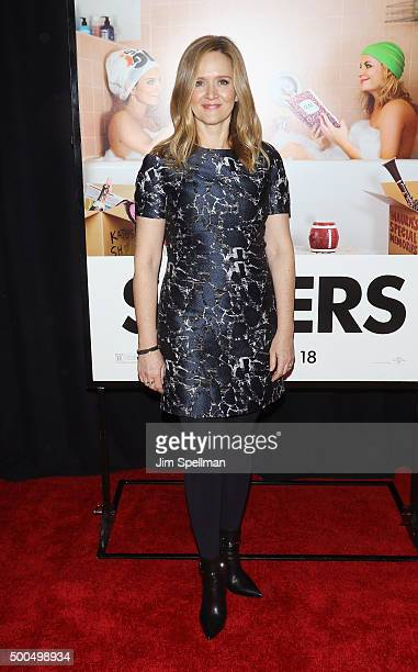 Actress Samantha Bee attends the 'Sisters' New York premiere at Ziegfeld Theater on December 8 2015 in New York City