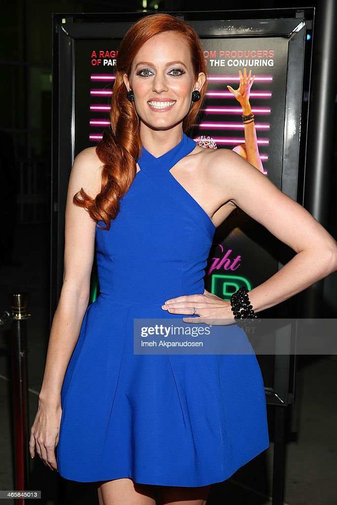 Actress Samantha Colburn attends the premiere of Magnet's 'Best Night Ever' at ArcLight Cinemas on January 29, 2014 in Hollywood, California.