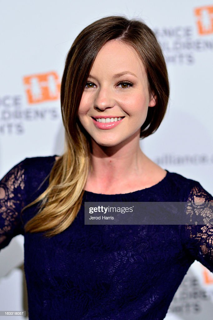 Actress Samantha Droke arrives at The Alliance for Children's Rights 21st annual gala at The Beverly Hilton Hotel on March 7, 2013 in Beverly Hills, California.