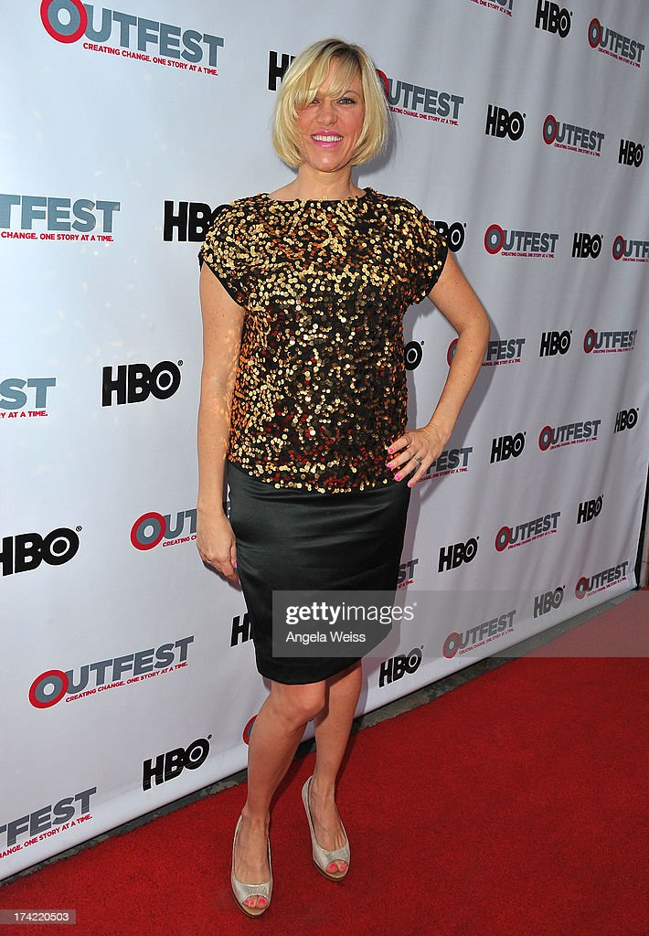 Actress Samantha Kern arrives at the 2013 Outfest Film Festival closing night gala of 'G.B.F.' at the Ford Theatre on July 21, 2013 in Hollywood, California.
