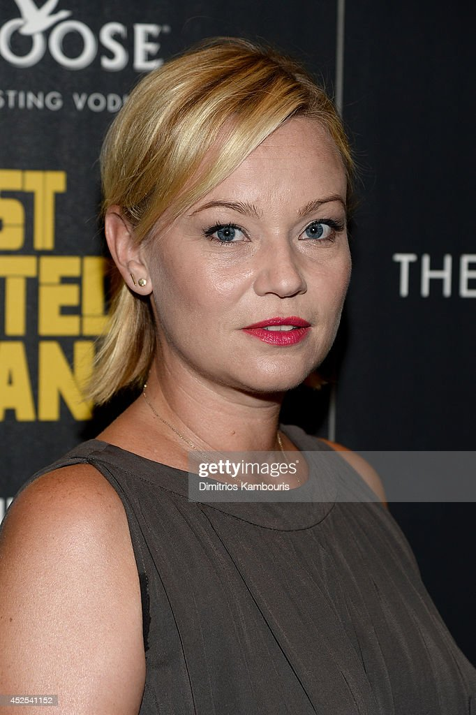 Actress <a gi-track='captionPersonalityLinkClicked' href=/galleries/search?phrase=Samantha+Mathis&family=editorial&specificpeople=213487 ng-click='$event.stopPropagation()'>Samantha Mathis</a> attends Lionsgate and Roadside Attraction's premiere of 'A Most Wanted Man' hosted by The Cinema Society and Montblanc at the Museum of Modern Art on July 22, 2014 in New York City.
