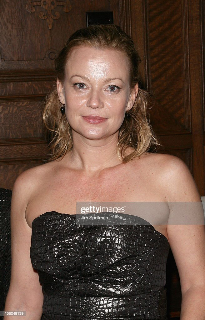 Actress Samantha Mathis attends The Cinema Society With Chrysler & Bally Host The Premiere Of 'Stand Up Guys' After Party at The Plaza Hotel on December 9, 2012 in New York City.