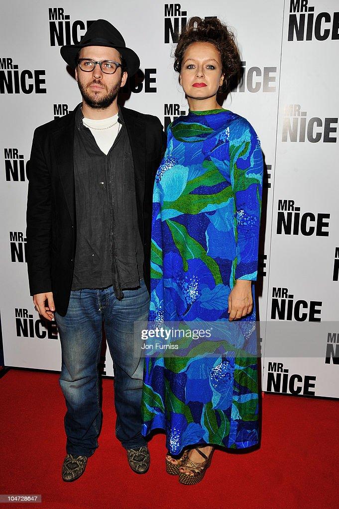 Mr Nice - London Premiere - Inside Arrivals