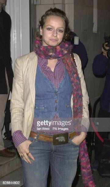 Actress Samantha Morton arrives for a private screening of the classic film Ladybird Ladybird as part of a Grand Classics series at The Electric...