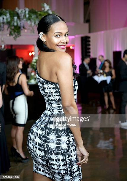 Actress Samantha Mumba attends PATHWAY TO THE CURE A Fundraiser Benefiting Susan G Komen presented by Pathway Genomics Relativity Media and evian...