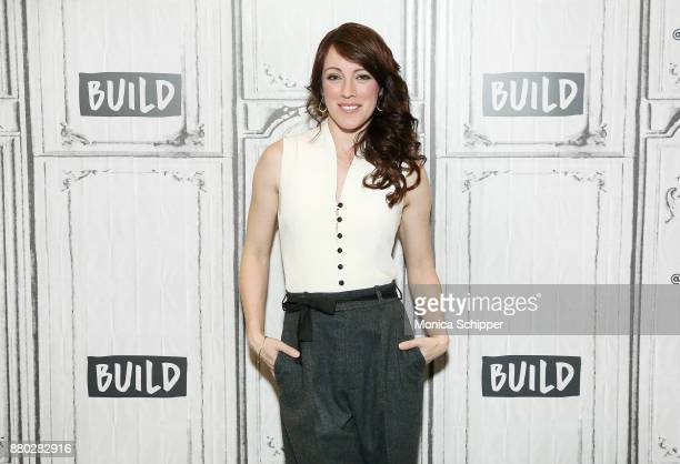 Actress Samantha Soule discusses 'Godless' at Build Studio on November 27 2017 in New York City