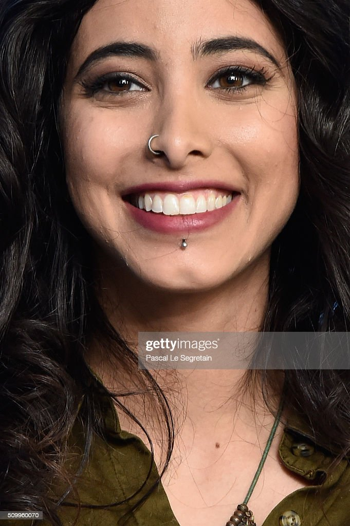 Actress Samar Qupty attends the 'Junction 48' photo call during the 66th Berlinale International Film Festival Berlin at Grand Hyatt Hotel on February 13, 2016 in Berlin, Germany.