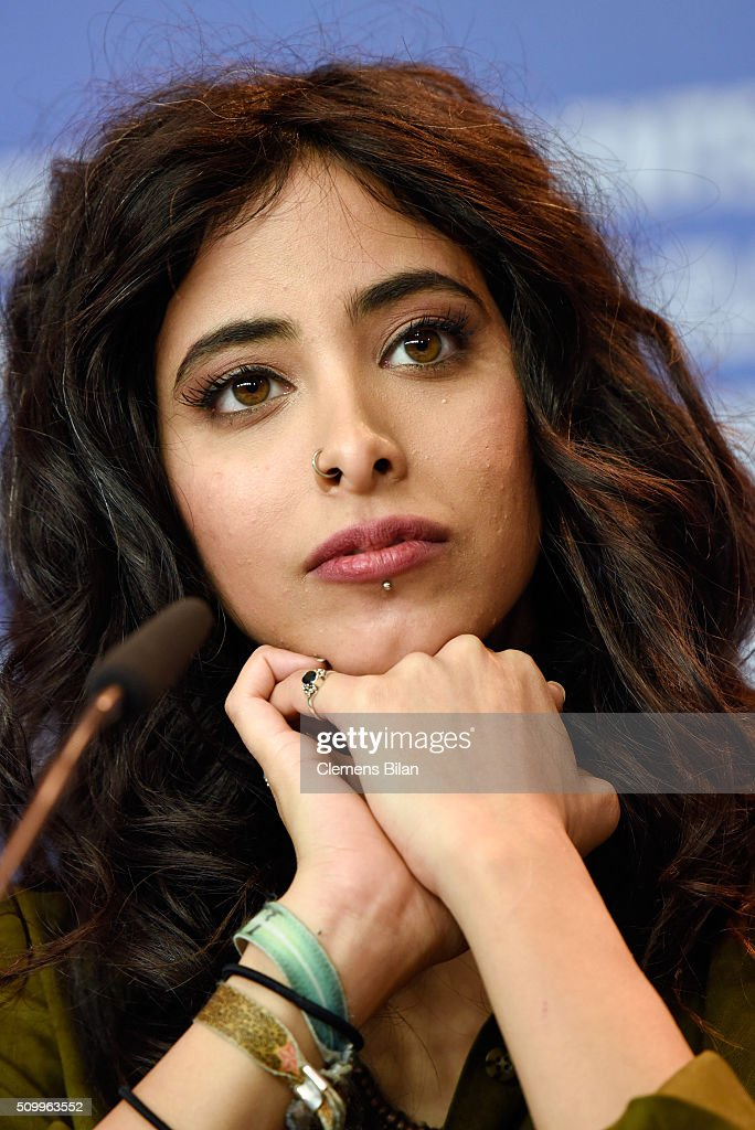 Actress Samar Qupty attends the 'Junction 48' press conference during the 66th Berlinale International Film Festival Berlin at Grand Hyatt Hotel on February 13, 2016 in Berlin, Germany.