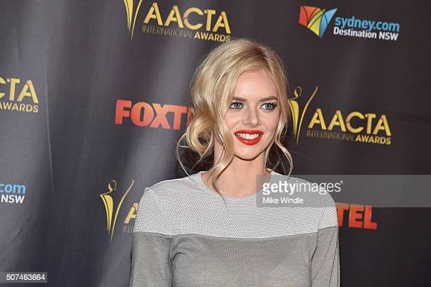 Actress Samara Weaving attends the 5th AACTA International Awards at Avalon Hollywood on January 29 2016 in Los Angeles California United States