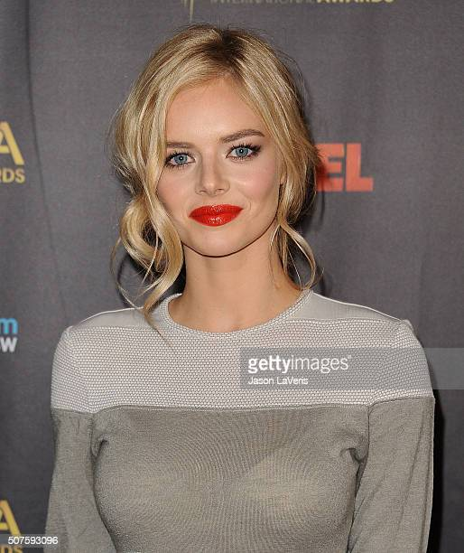Actress Samara Weaving attends the AACTA International Awards at Avalon Hollywood on January 29 2016 in Los Angeles California