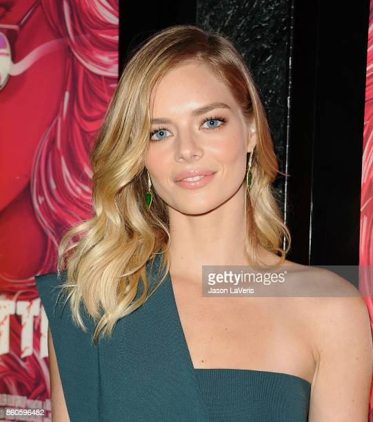 Actress Samara Weaving attends the premiere of 'The Babysitter' at the Vista Theatre on October 11 2017 in Los Angeles California