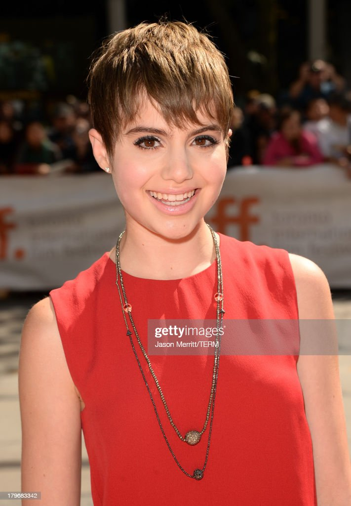 Actress Sami Gayle arrives at 'Hateship Loveship' Premiere during the 2013 Toronto International Film Festival at Princess of Wales Theatre on...