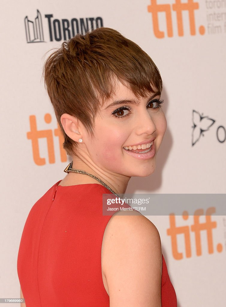 Actress <a gi-track='captionPersonalityLinkClicked' href=/galleries/search?phrase=Sami+Gayle&family=editorial&specificpeople=5053940 ng-click='$event.stopPropagation()'>Sami Gayle</a> arrives at 'Hateship Loveship' Premiere during the 2013 Toronto International Film Festival at Princess of Wales Theatre on September 6, 2013 in Toronto, Canada.