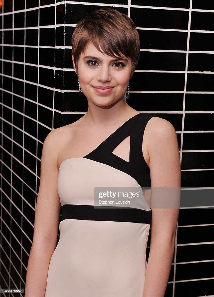 Actress <a gi-track='captionPersonalityLinkClicked' href=/galleries/search?phrase=Sami+Gayle&family=editorial&specificpeople=5053940 ng-click='$event.stopPropagation()'>Sami Gayle</a> attends IFC Films' 'Hateship Loveship' screening hosted by The Cinema Society and Montblanc after party at The Skylark on April 8, 2014 in New York City.