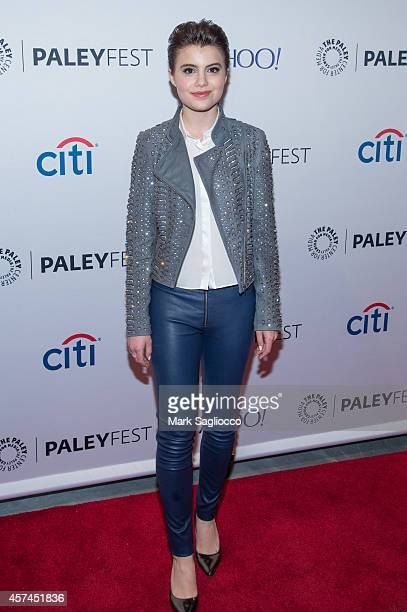 Actress Sami Gayle attends the 2nd Annual Paleyfest of 'Blue Bloods' at the Paley Center For Media on October 18 2014 in New York New York