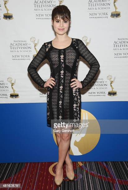 Actress Sami Gayle attends the 57th Annual New York Emmy Awards at Marriott Marquis Times Square on March 30 2014 in New York City