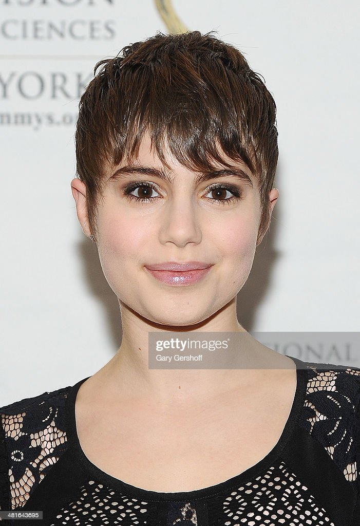 Actress <a gi-track='captionPersonalityLinkClicked' href=/galleries/search?phrase=Sami+Gayle&family=editorial&specificpeople=5053940 ng-click='$event.stopPropagation()'>Sami Gayle</a> attends the 57th Annual New York Emmy Awards at Marriott Marquis Times Square on March 30, 2014 in New York City.