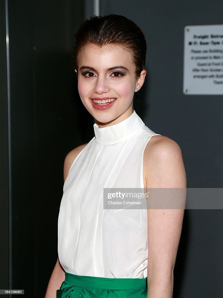 Actress Sami Gayle attends 'The Bible Experience' Opening Night Gala at The Bible Experience on March 19, 2013 in New York City.