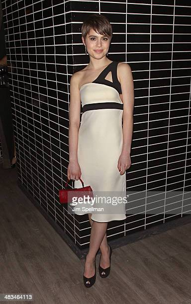 Actress Sami Gayle attends The Cinema Society Montblanc screening of IFC Films' 'Hateship Loveship' after party at The Skylark on April 8 2014 in New...