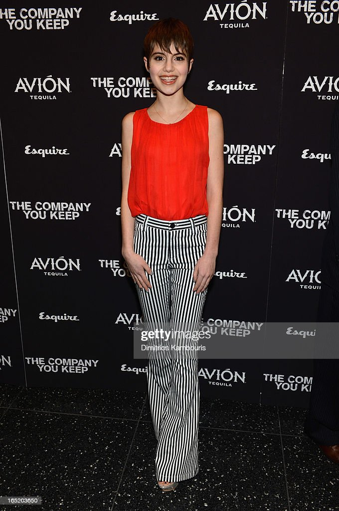 Actress Sami Gayle attends 'The Company You Keep' New York Premiere at MOMA on April 1, 2013 in New York City.