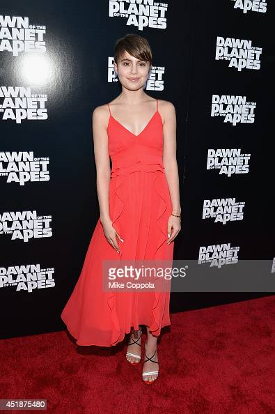 Actress Sami Gayle attends the 'Dawn Of The Planets Of The Apes' premiere at Williamsburg Cinemas on July 8 2014 in New York City