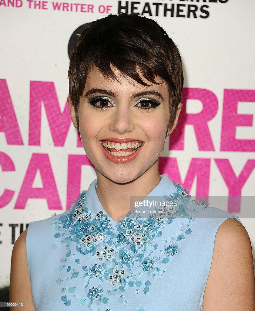 Actress <a gi-track='captionPersonalityLinkClicked' href=/galleries/search?phrase=Sami+Gayle&family=editorial&specificpeople=5053940 ng-click='$event.stopPropagation()'>Sami Gayle</a> attends the premiere of 'Vampire Academy' at Regal Cinemas L.A. Live on February 4, 2014 in Los Angeles, California.