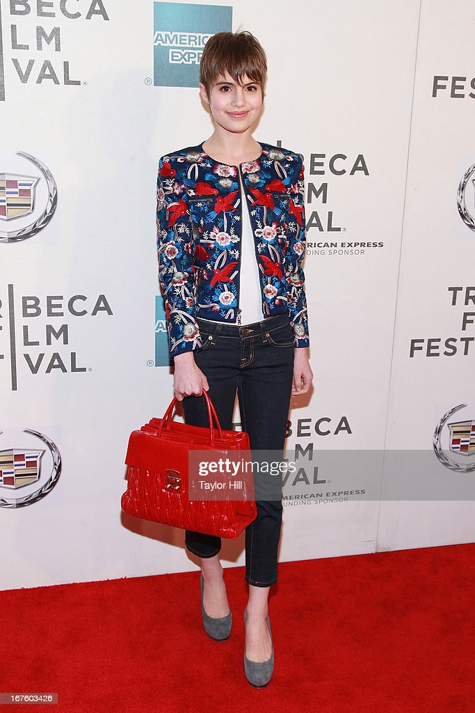 Actress Sami Gayle attends the screening of 'The English Teacher' during the 2013 Tribeca Film Festival at BMCC Tribeca PAC on April 26, 2013 in New York City.